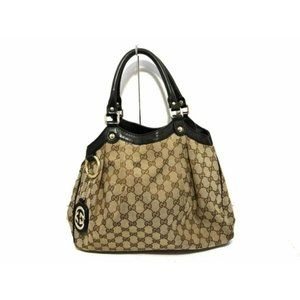 💎✨Authentic✨💎GUCCI Leather Tote Bag